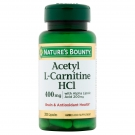 Nature's Bounty Acetyl L-Carnitine HCl 400 mg - 30 Capsules