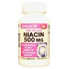 Major Niacin 500mg TR Capsules 100ct