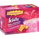 Emergen-C Kidz Vitamin C Fizzy Drink Mix Fruit Punch 250 mg - 30ct