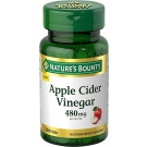 Nature's Bounty Apple Cider Vinegar 480mg 200 Tablets