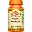 Sundown Naturals L-Theanine Stress Formula Capsules 60ct