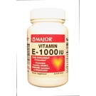 Major Vitamin E 1000 IU Softgels 30ct