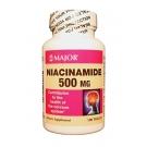 Major Niacinamide 500mg Tablets 100ct