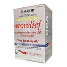 Major Nicorelief 2mg Gum 110ct