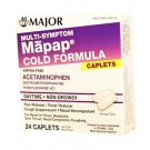 Mapap Cold Multi Symptom Tablets 24ct