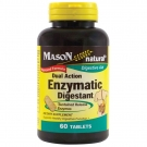 Mason Dual Action Enzymatic Digestant - 60 Tablets