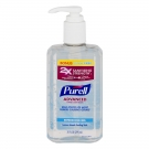 Purell Advanced Hand Sanitizer, Pump, Original, 10 fl oz