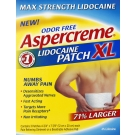 Aspercreme Odor Free Max Strength Lidocaine Patches XL - 3ct