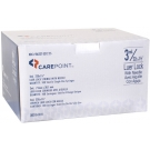 CarePoint Luer Lock Syringe, 22 Gauge, 3cc, 1 1/2