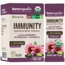 BareOrganics Superfood Water Enhancer, Immunity Blend - 12 ct
