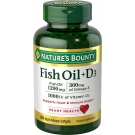 Nature's Bounty Fish Oil + D3 1200mg Softgels 90ct