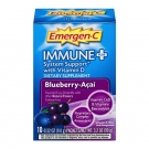 Emergen-C Immune Plus with Vitamin D Powder, Blueberry-Acai, 0.3 Oz, 10 Ct