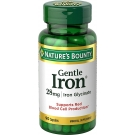 Natures Bounty Gentle Iron Capsules 28mg, 90ct