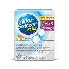 Alka-Seltzer Plus Citrus Severe Cold & Flu Effervescent Tablets - 20ct