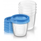 Philips AVENT Breast Milk Storage Cups, 6oz - 5ct