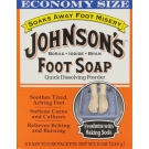 Johnsons Foot Soap Packets 8/Box