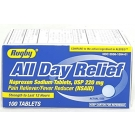 Major Rugby Naproxen Sodium 220 mg Tablet - 100ct
