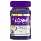 Vicks ZzzQuil PURE Zzzs Gummies Wildberry Vanilla 48 ct