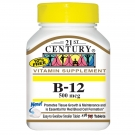 21st Century, B-12 500mcg 110 Tablets