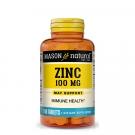Mason Natural Zinc 100mg Tablets 100ct