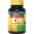 Nature Made Vitamin C 1000 mg Tablets 100ct