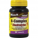 Mason natural B-Complex with Electrolytes Dietary Supplement, 60ct