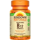 Sundown Naturals Quick Dissolve Vitamin B-12 5000mcg Microlozenges 90ct