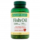 Nature's Bounty Fish Oil 1200mg 200 Softgels