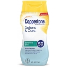 Coppertone Defend and Care Sensitive Skin Lotion SPF 50 6oz