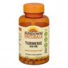 Sundown Naturals Turmeric 500mg, Capsules, 90ct