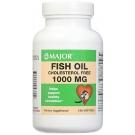 Major Fish Oil 1000mg Capsules 100ct
