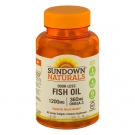 Sundown Odorless Fish Oil 1200mg Coated Soft-Gel 85ct