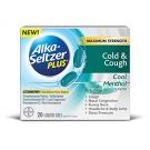 Alka-seltzer Plus Cold & Cough, Liquid Gels, Cool Menthol, 20ct