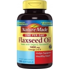Nature Made Flaxseed 1400 mg Softgels - 100ct