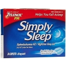 Tylenol Simply Sleep - Night Time Sleep Aid - 24 Caplets