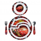 The First Years Disney/Pixar Cars 2 4-Piece Feeding Set ** Extended Lead Time **