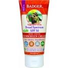 Badger Kids Sunscreen Cream, SPF 30 - 2.9oz Tube