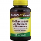 Mason natural In-Fla-Mend with Turmeric & Rosemary Dietary Supplement, 60 count