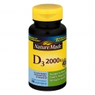 Nature Made Vitamin D3 2000 I.U. Liquid Softgel 90ct