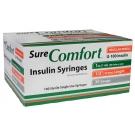 SureComfort Insulin Syringe 30 Gauge, 1cc, 1/2