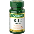 Nature's Bounty Vitamin B-12 1000mcg Tablets 100ct