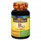 Nature Made Vitamin B-12 1000mcg Tablets 160ct