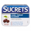 Sucrets Complete Vapor Throat Lozenges, Cherry, 18 ct