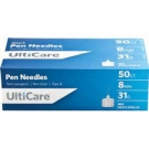 Ulticare Pen Needles 31 Gauge, 8mm- 50ct