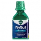 Vicks Nyquil Cold & Flu Relief Liquid, Original Flavor- 8oz