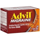 Advil Migraine Pain Reliever Liqui-gel 200 mg 20ct