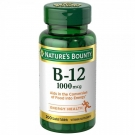 Nature's Bounty Vitamin B-12 1000mcg Tablets 200ct
