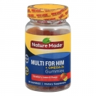 Nature Made Multi for Him with Omega 3 Gummies, 80 ct