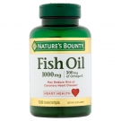 Nature's Bounty Fish Oil 1000mg Enteric Coated Softgels 120ct