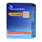Pharmacist Choice Blood Glucose Test Strips, 50 ct